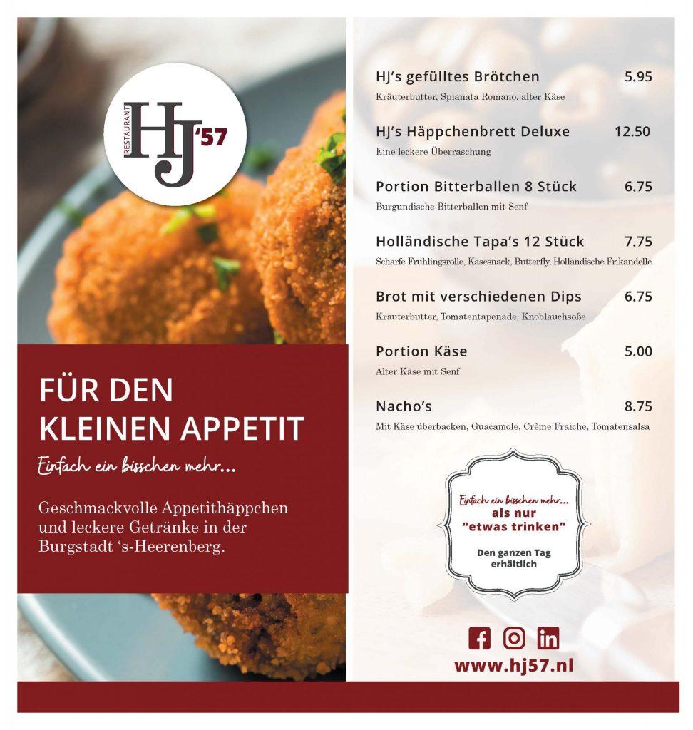 HJ57 Duitse borrelkaart