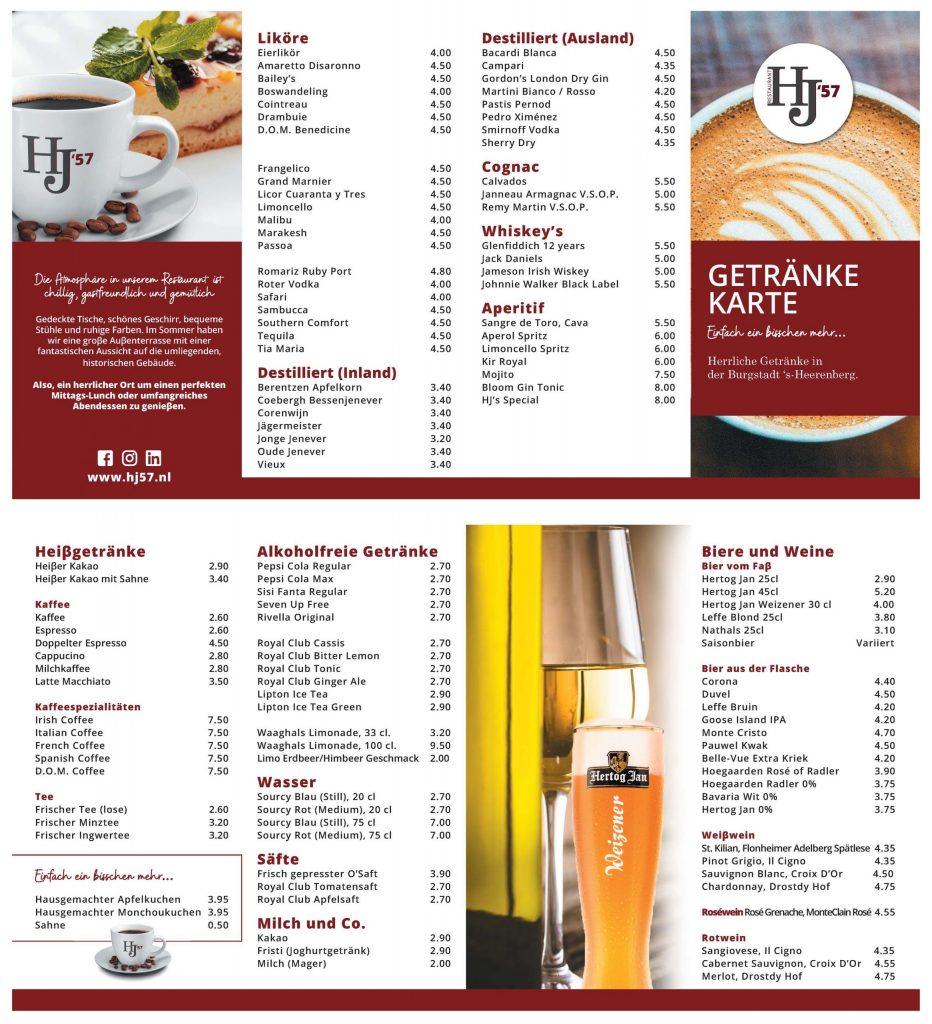 HJ57 Duitse drankenkaart