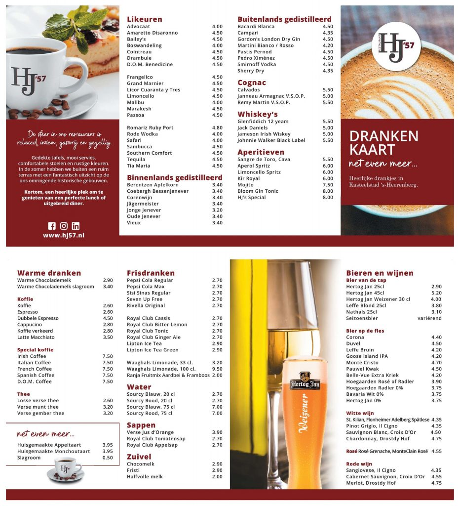 HJ57 drankenkaart